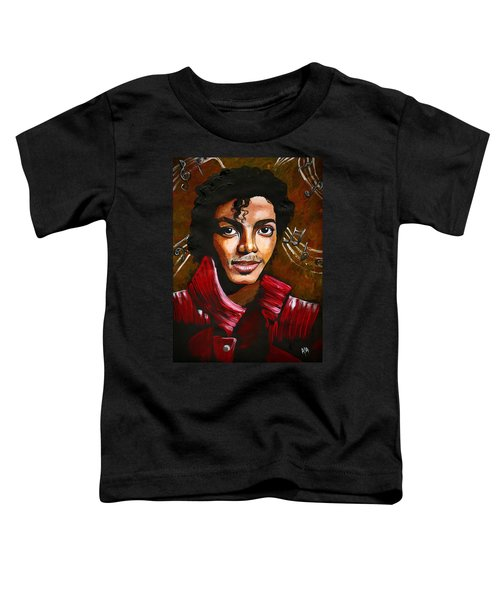 Michael Jackson Toddler T-Shirt