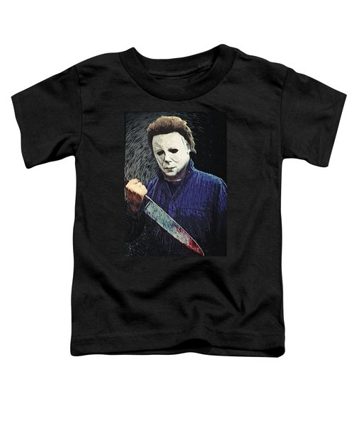 Michael Myers  Toddler T-Shirt