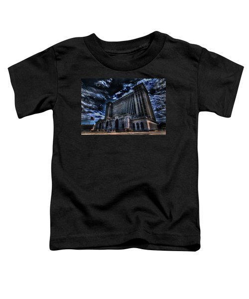 Michigan Central Station Hdr Toddler T-Shirt