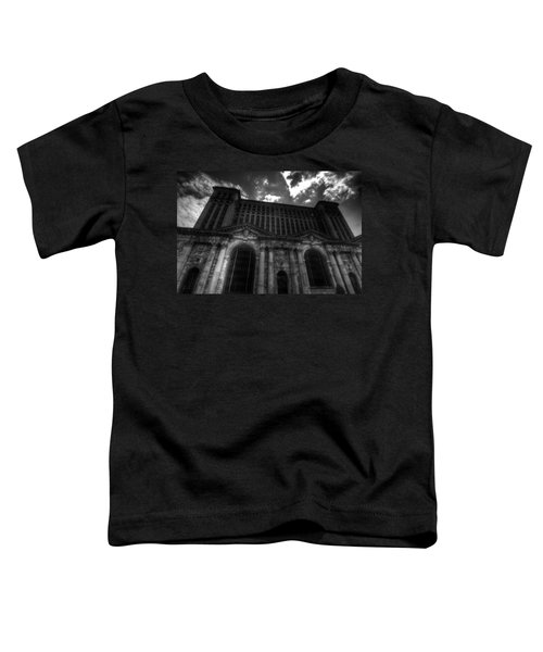 Michigan Central Station Highrise Toddler T-Shirt