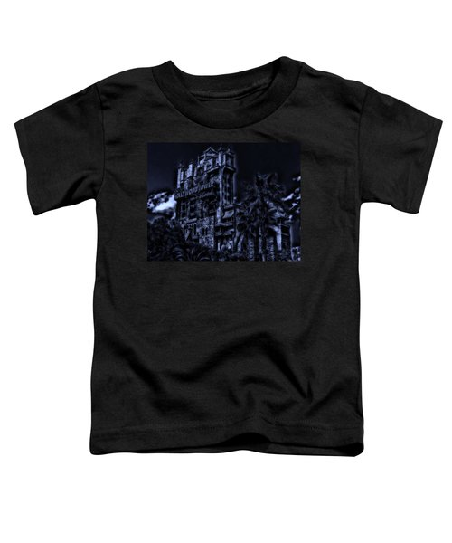Midnight At The Tower Of Terror Toddler T-Shirt