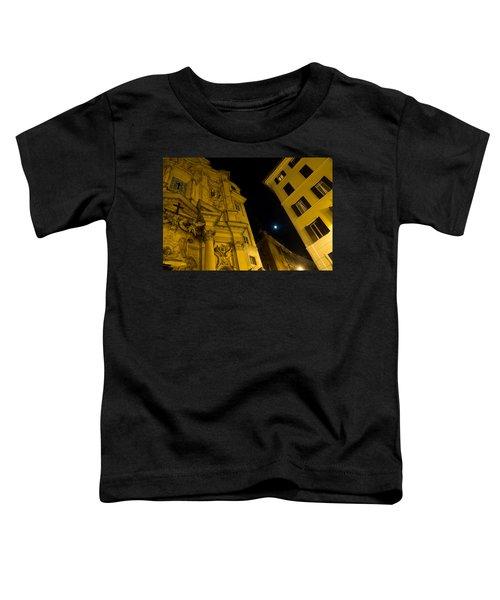 Midnight Roman Facades In Yellow  Toddler T-Shirt