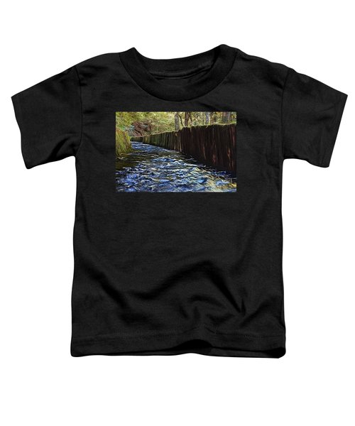 Millrace At Mingus Mill Toddler T-Shirt