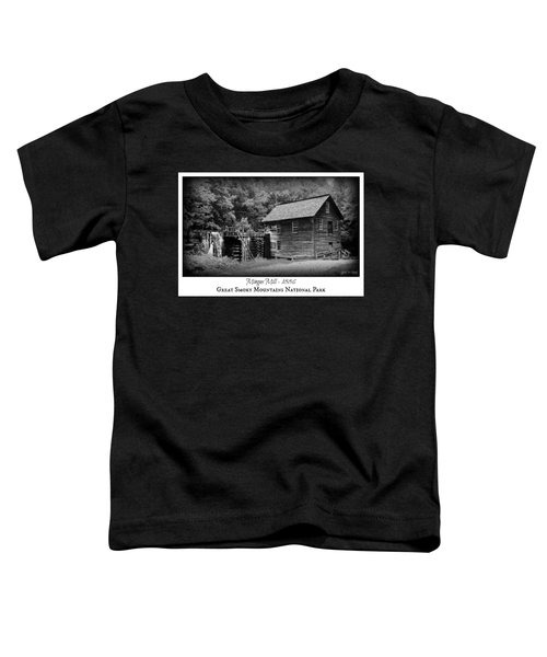 Mingus Mill -- Black And White Poster Toddler T-Shirt