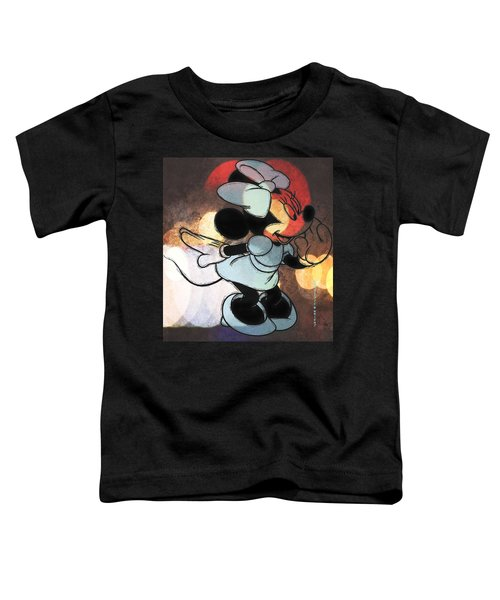 Minnie Mouse Sketchy Toddler T-Shirt