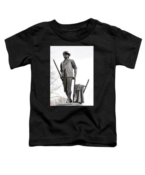 Minute Man Statue Toddler T-Shirt