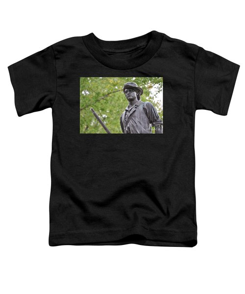 Minute Man Statue In Spring Toddler T-Shirt