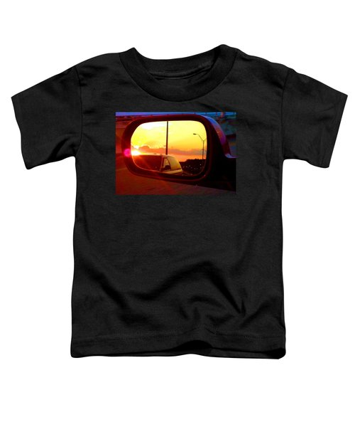Mirror Sunset Toddler T-Shirt
