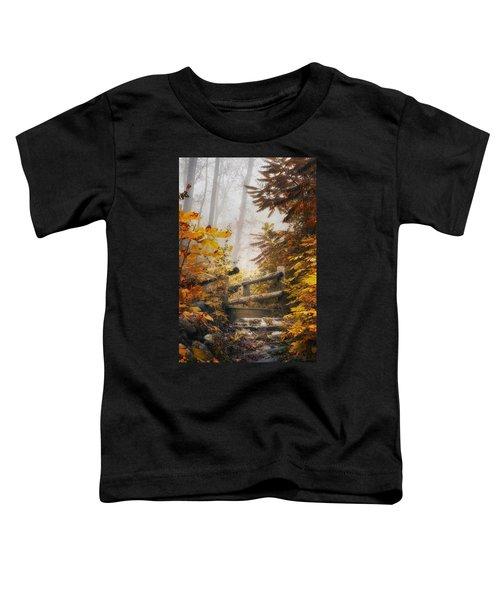 Misty Footbridge Toddler T-Shirt