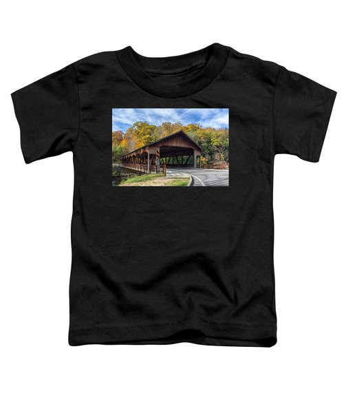 Mohican Covered Bridge Toddler T-Shirt