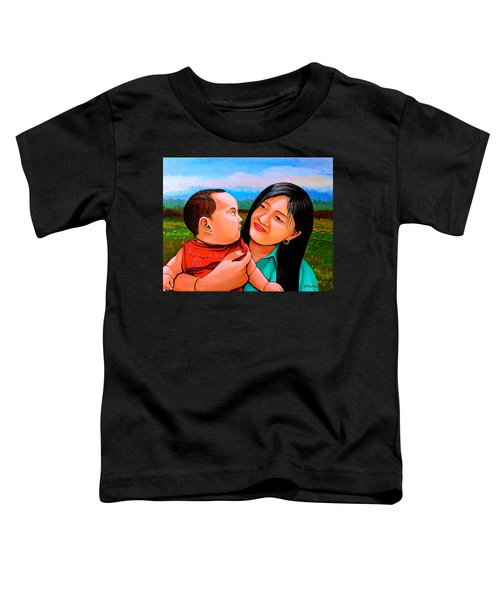 Mom And Babe Toddler T-Shirt