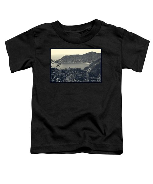 Monterosso Al Mare From Above Toddler T-Shirt