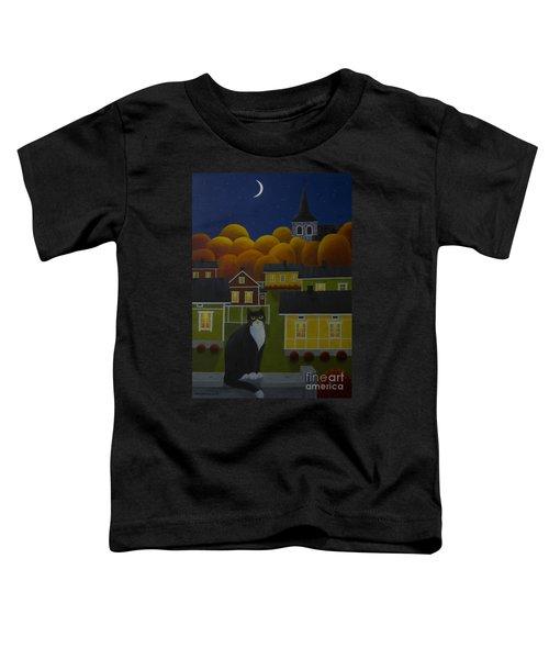 Moonlight Night Toddler T-Shirt