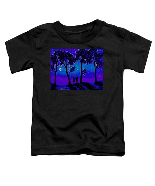 Moonlight Walk Toddler T-Shirt