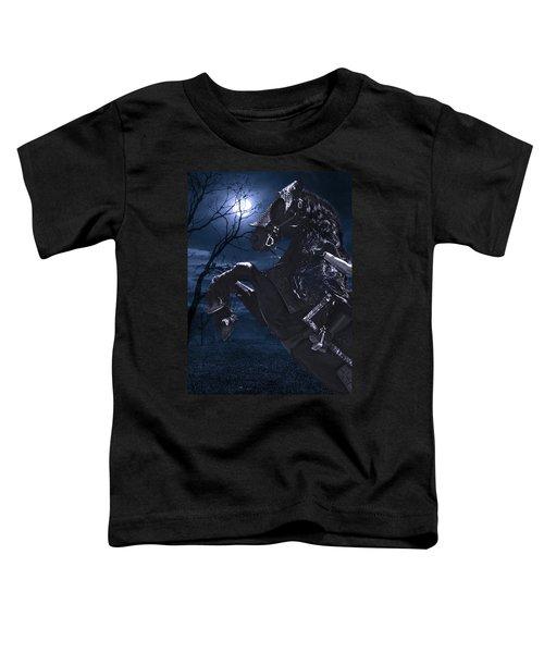 Moonlit Warrior Toddler T-Shirt
