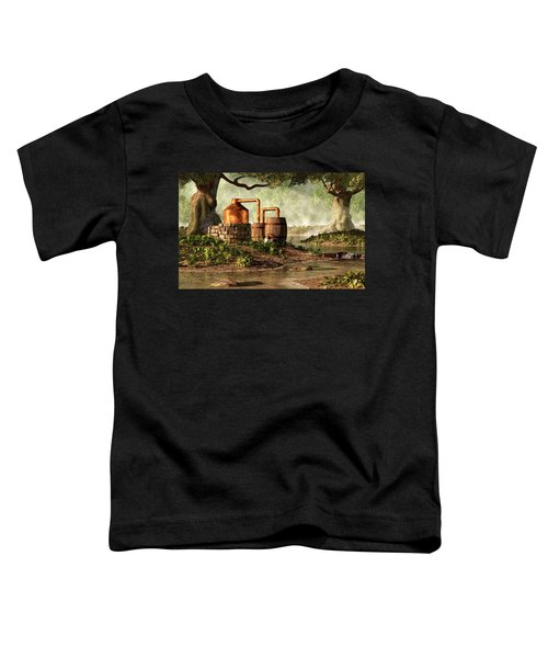 Moonshine Still 1 Toddler T-Shirt