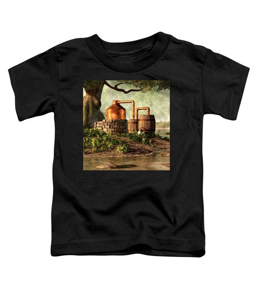 Moonshine Still 1 Toddler T-Shirt