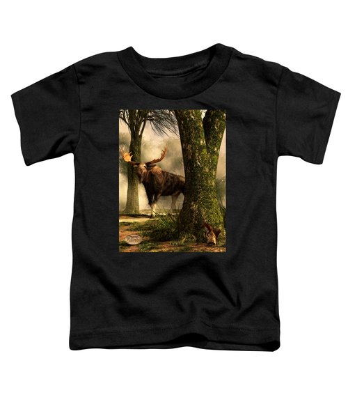 Moose And Squirrel Toddler T-Shirt