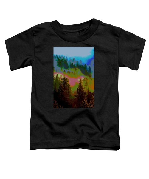 Morning Arrives In The Pacific Northwest Toddler T-Shirt