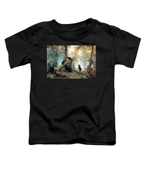 Morning In A Pine Forest Toddler T-Shirt