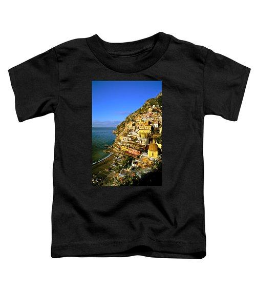 Morning Light Positano Italy Toddler T-Shirt
