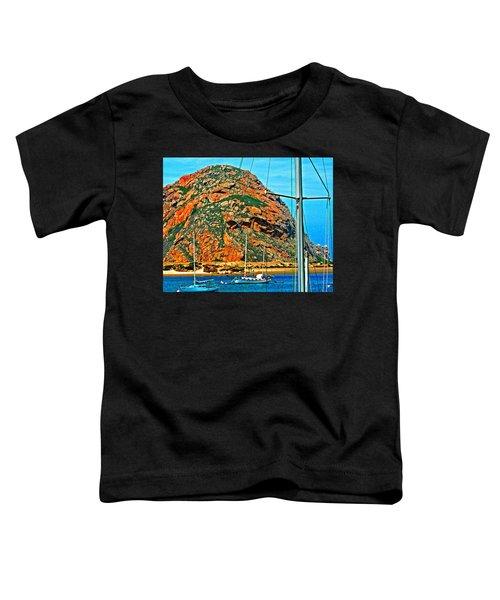 Moro Bay Sailing Boats Toddler T-Shirt