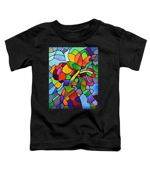 Mosaic Bouquet Toddler T-Shirt
