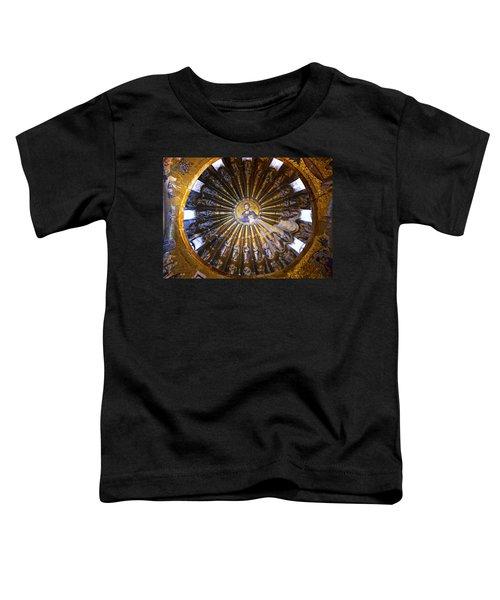 Mosaic Of Christ Pantocrator Toddler T-Shirt