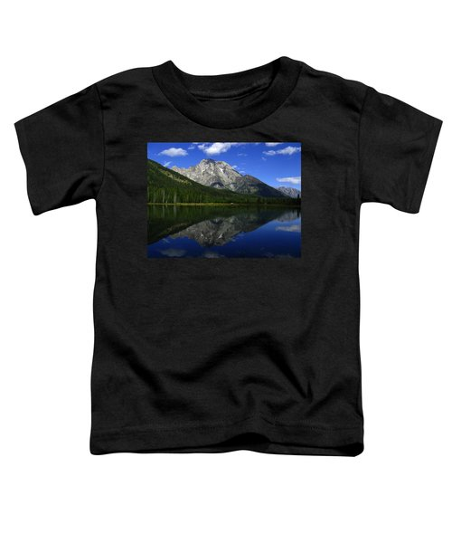 Mount Moran And String Lake Toddler T-Shirt