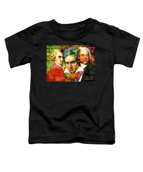 Mozart Beethoven Bach 20140128 Toddler T-Shirt