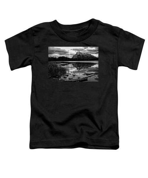 Mt. Rundle Reflection Toddler T-Shirt