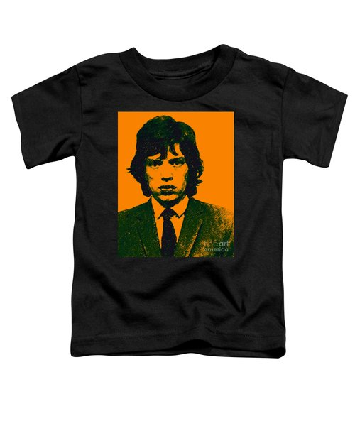 Mugshot Mick Jagger P0 Toddler T-Shirt