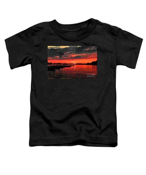 Muskoka Sunset Toddler T-Shirt
