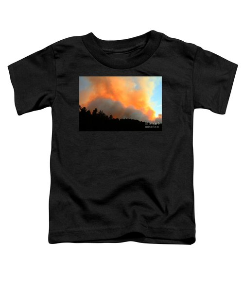 Myrtle Fire Near Rifle Pit Road Toddler T-Shirt