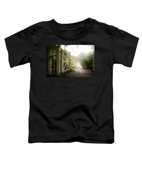 Mystic Garden - A Wonderful And Magical Place Toddler T-Shirt