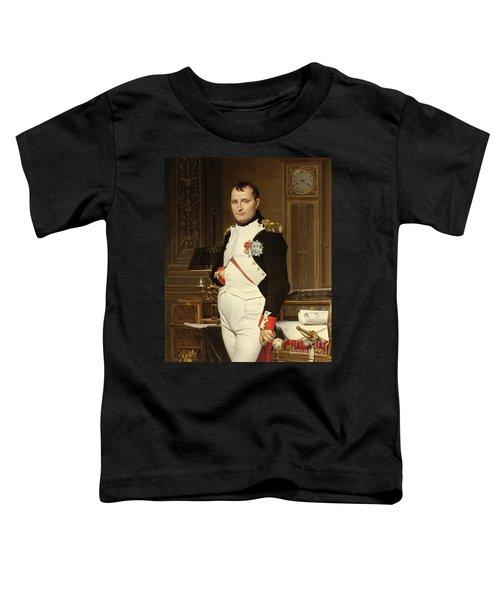Napoleon Bonaparte In His Study Toddler T-Shirt