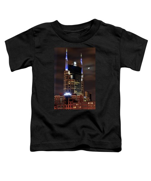Nashville Toddler T-Shirt by Frozen in Time Fine Art Photography