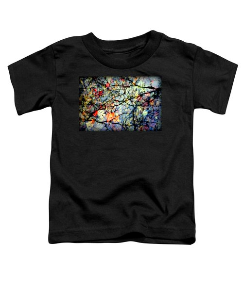 Natures Stained Glass Toddler T-Shirt
