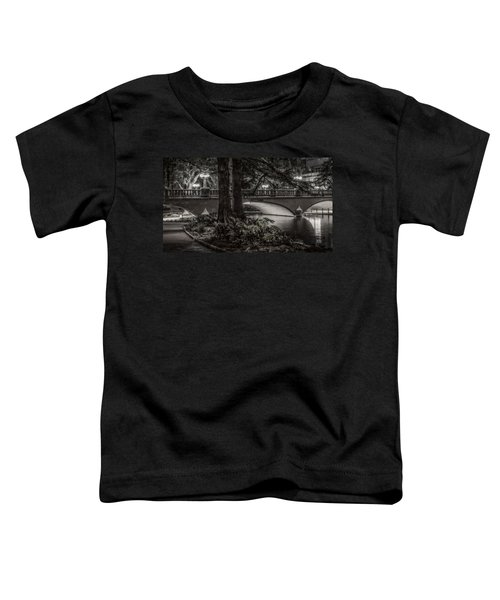 Navarro Street Bridge At Night Toddler T-Shirt