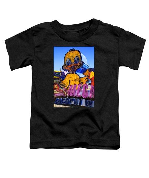 Neon Duck Toddler T-Shirt