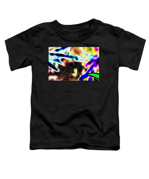Neon Spider Toddler T-Shirt
