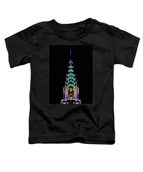 Neon Spires Toddler T-Shirt by Az Jackson