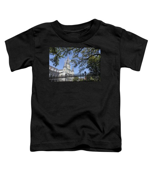 St Louis Cathedral In New Orleans New Orleans 18 Toddler T-Shirt