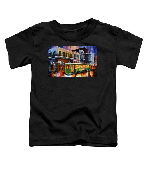 New Orleans Old Desire Streetcar Toddler T-Shirt