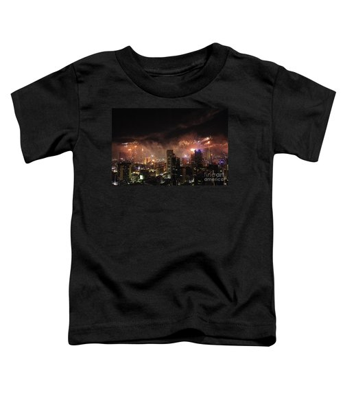 New Year Fireworks Toddler T-Shirt