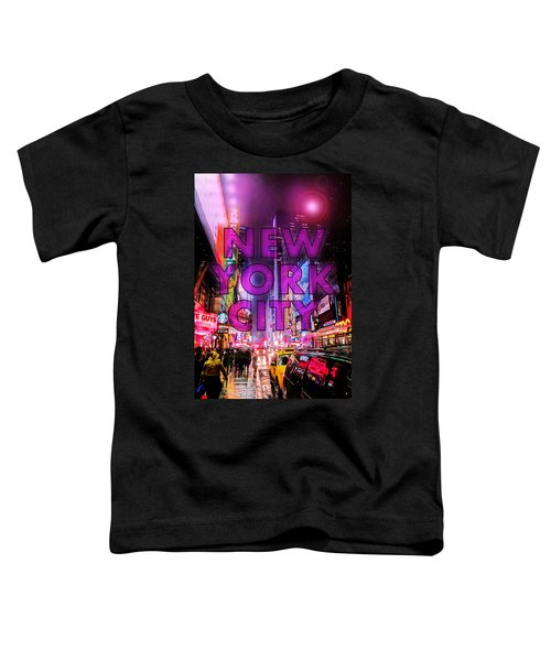 New York City - Color Toddler T-Shirt