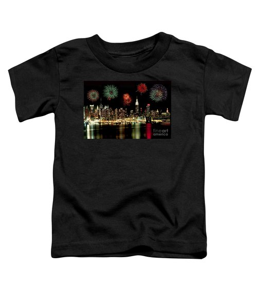 New York City Fourth Of July Toddler T-Shirt