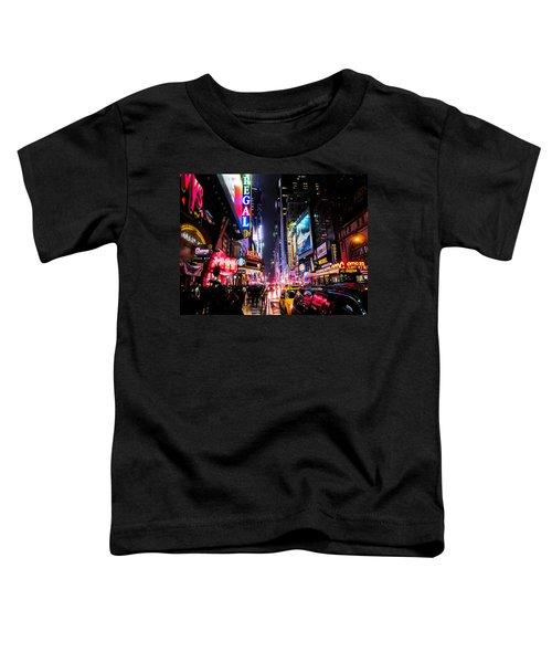 New York City Night Toddler T-Shirt
