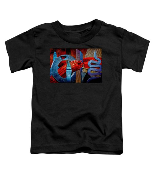 New York City Park Avenue Sculptures Reimagined Toddler T-Shirt