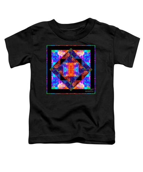 Newly Formed Bliss Mandala Artwork Toddler T-Shirt